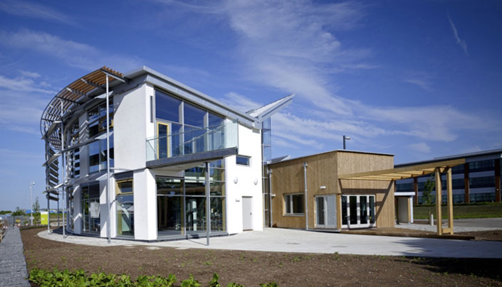 Client: Wolseley UK, Project: Sustainable Building Center, Value: £3m
