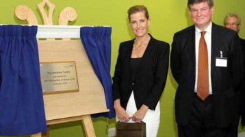 HRH Countess of Wessex opens NHS Whiteleaf Centre