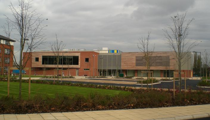 Client: Birmingham City University, Project: City North Sports Facility, Value: £7m