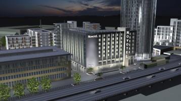 Apppointed on £13.9 Million Novotel Hotel, Brentford