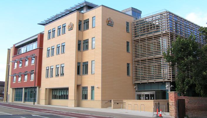 Client: Cambridgeshire County Council, Project: Combined Justice Centre, Value: £35m