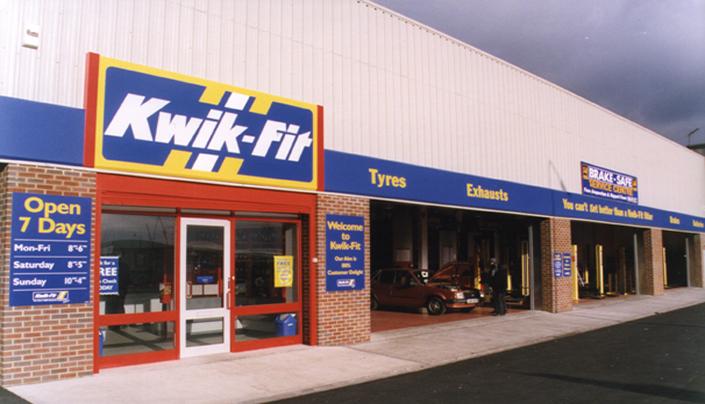 Client: Kwik-Fit, Project: Various, Value: Various