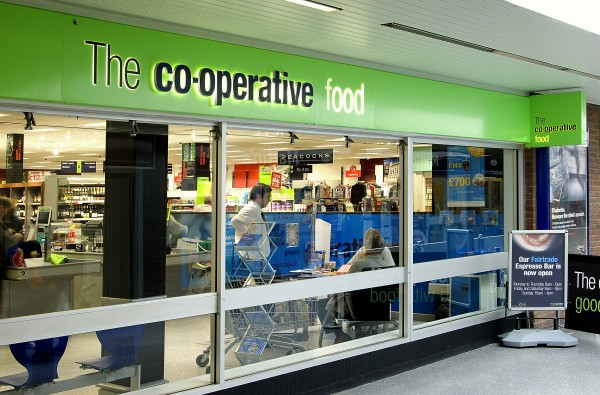 Client: the Co-operative Group, Project: Store Re-branding Programme, Value: £25m p/annum