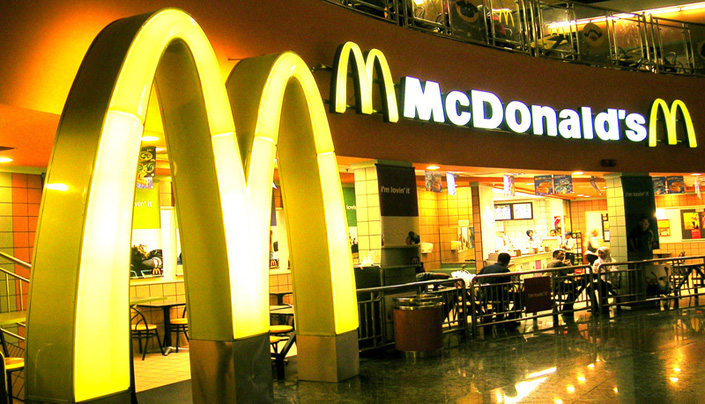 Client: McDonald's, Project: Various, Value: Various