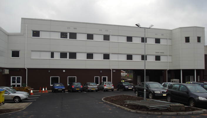 Client: West Midlands Police, Project: Stetchford Police Station, Value: £2m