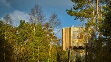 Center Parcs Reveal New Treetop Sauna
