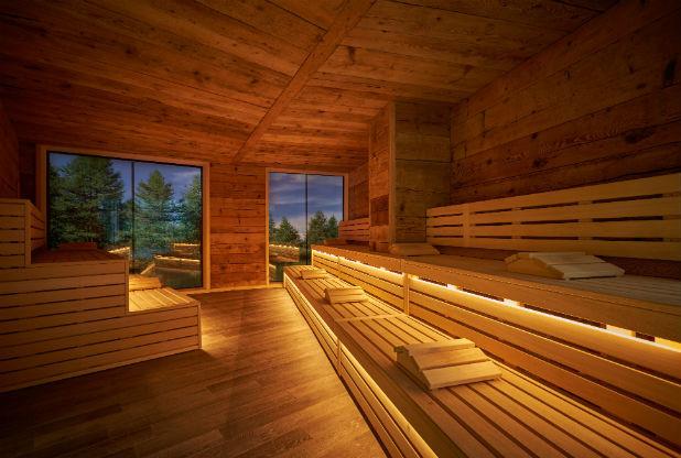 treetop sauna